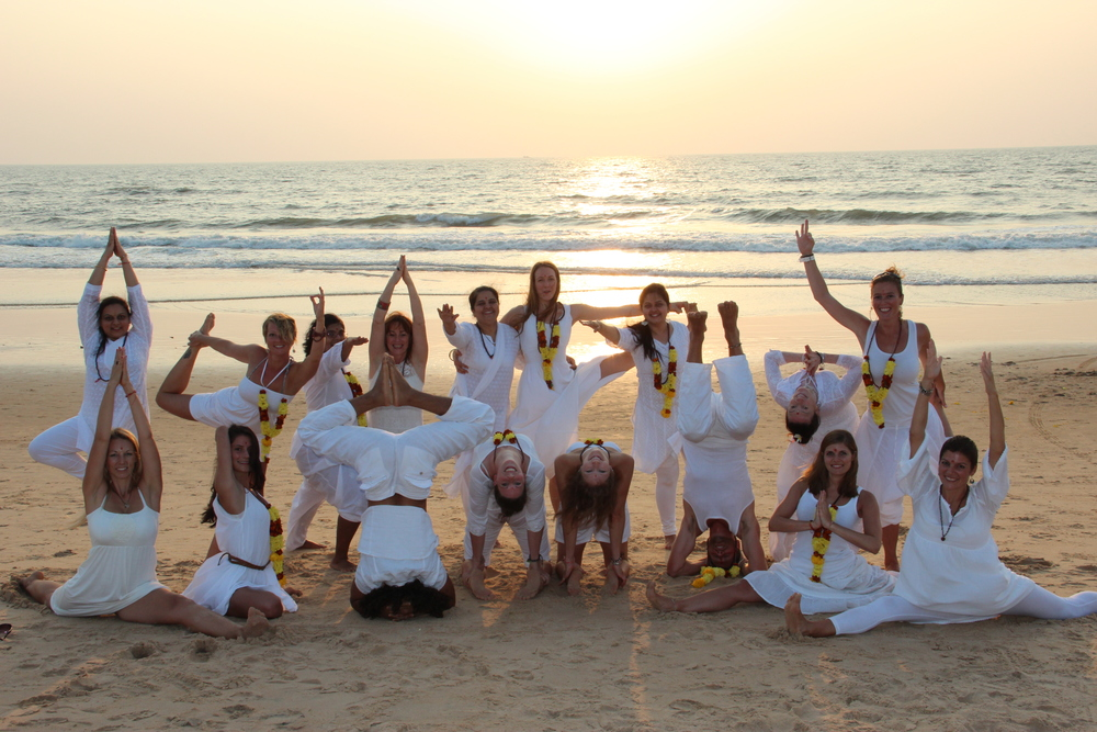 200 Hour Yoga Teacher Training lead by Nicole and guest teachers in the land of the origin of yoga. Yoga Alliance certified