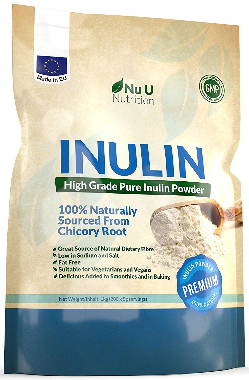 Inulin - Probiotika haben mein (Gut-) Leben verändert. Hier findest du das hochprozentige Chicorée- Pulver, dass ich zur Zeit nutze.