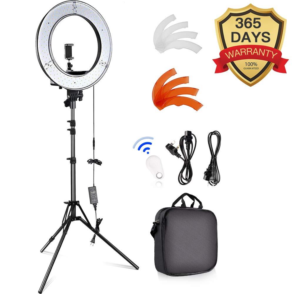 Ringlicht für Videos & Fotos - Dieses Ringlicht benutze ich für Live-Videos und Fotos.