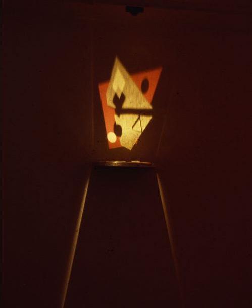 Taro Suzuki. Constructivist Mirage. 1979. Mized Media. Stefanotti Gallery.