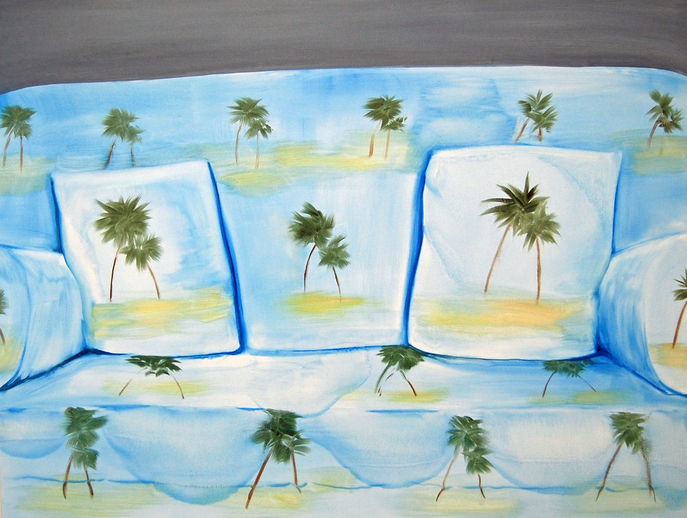 Aglaé Bassens, Palm Sofa