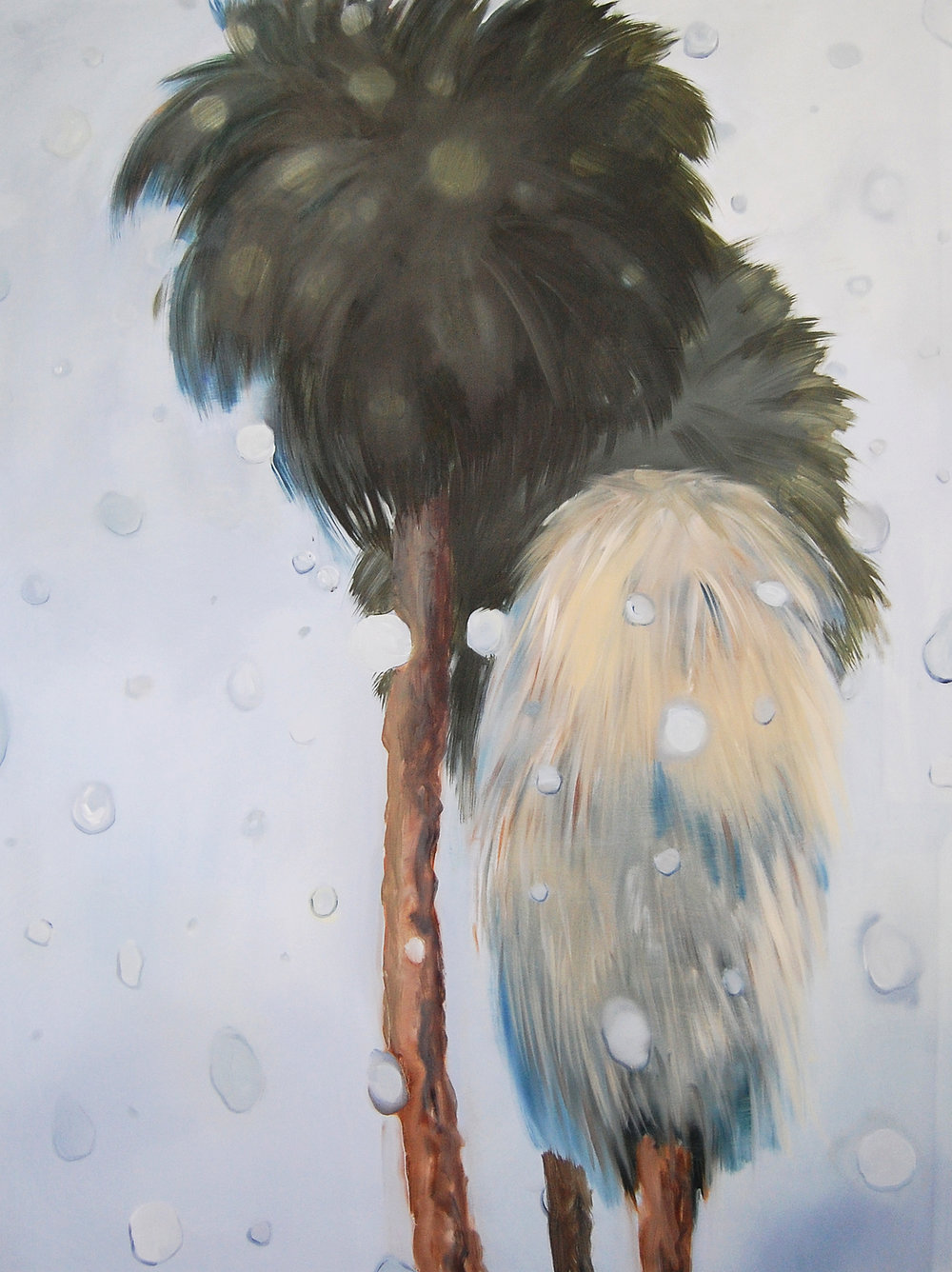 Aglaé Bassens, Rainy Palms (Big)