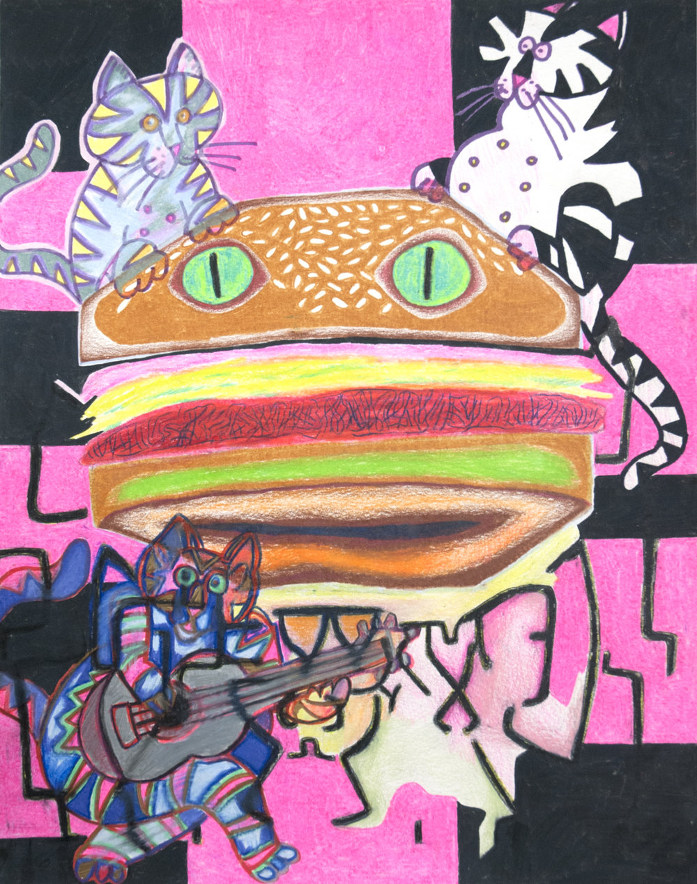 Pussy Burger for Chris Martin