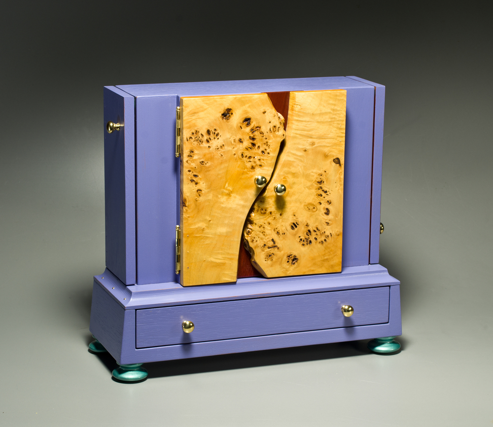 Burl Doors Jewelry Box