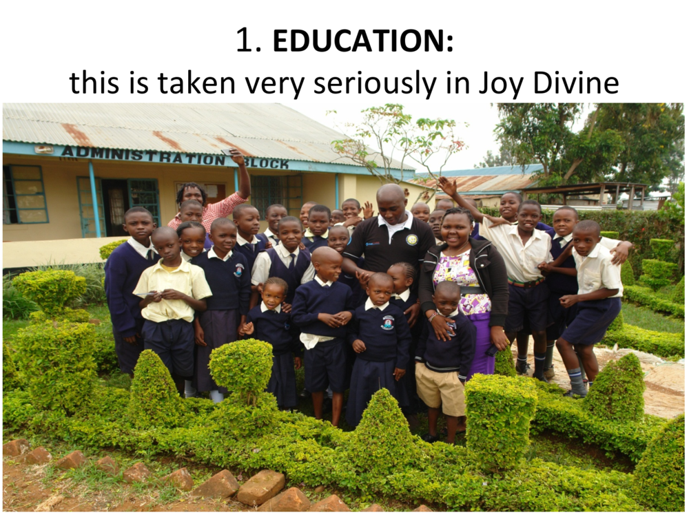 Click here to view the Joy Divine Presentation