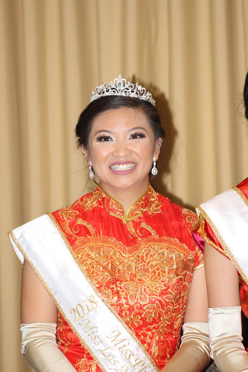 Miss Photogenic & Miss Friendship, Sally Yu