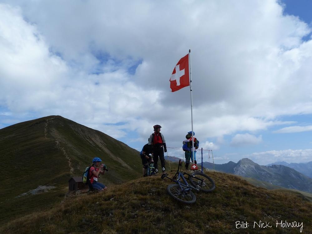 Mountainbiken in Davos
