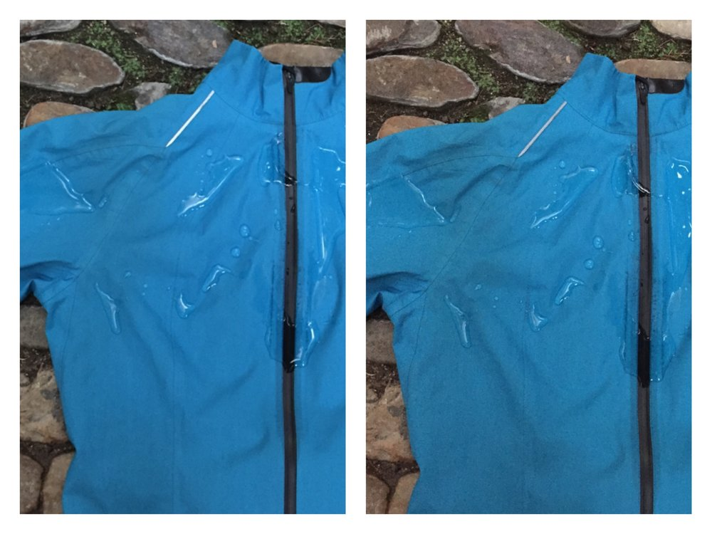 Gore-Tex®-Jacke NACH dem Trocknen im Trockner