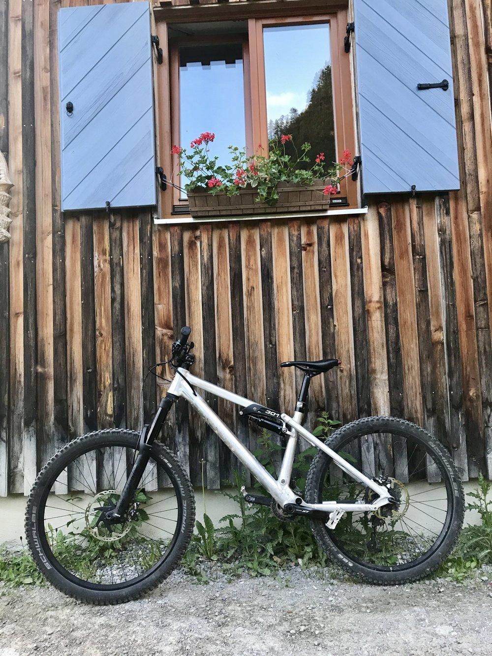 Mein Radl ist ready to roll!