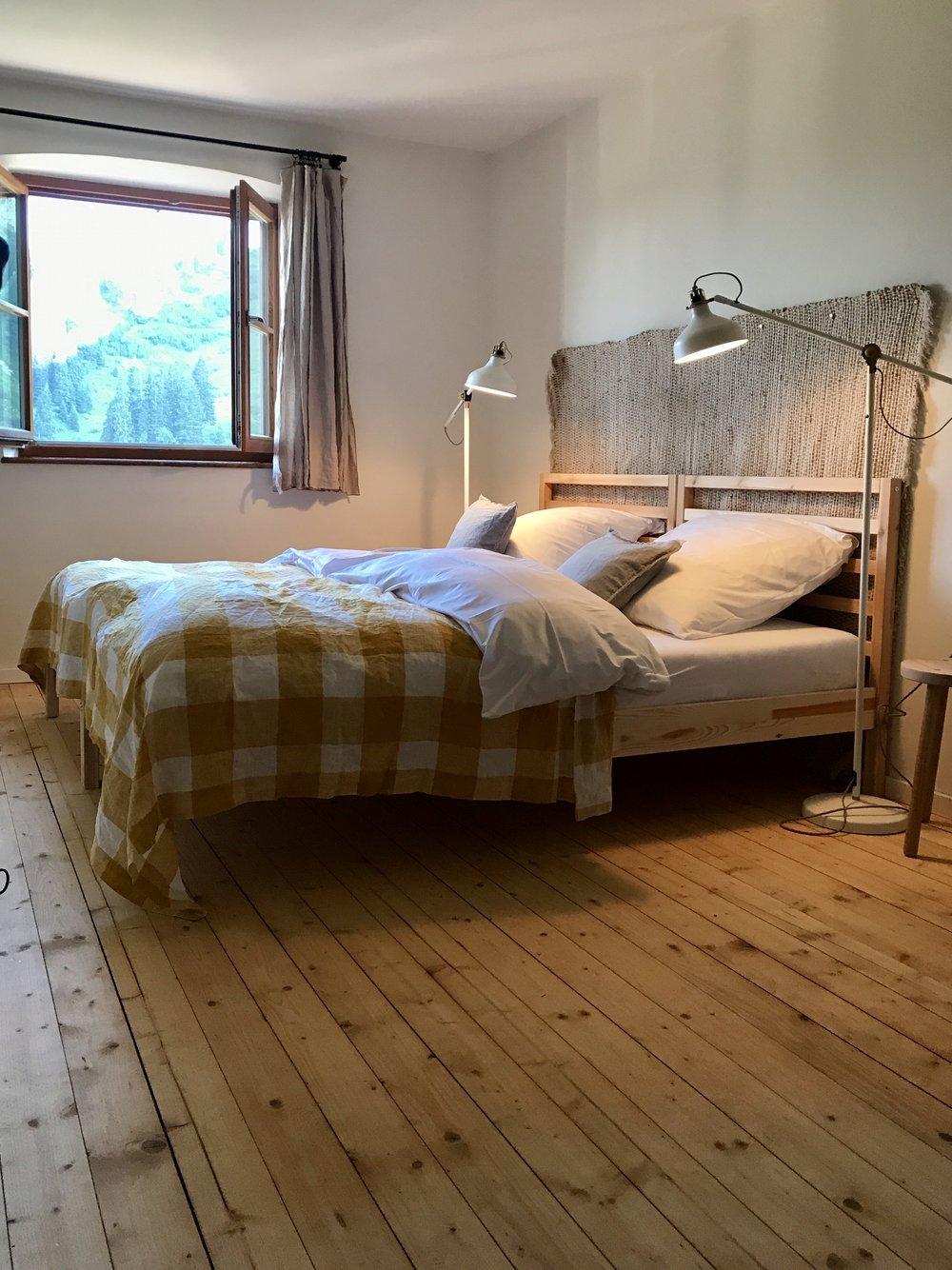 Unser Zimmer...