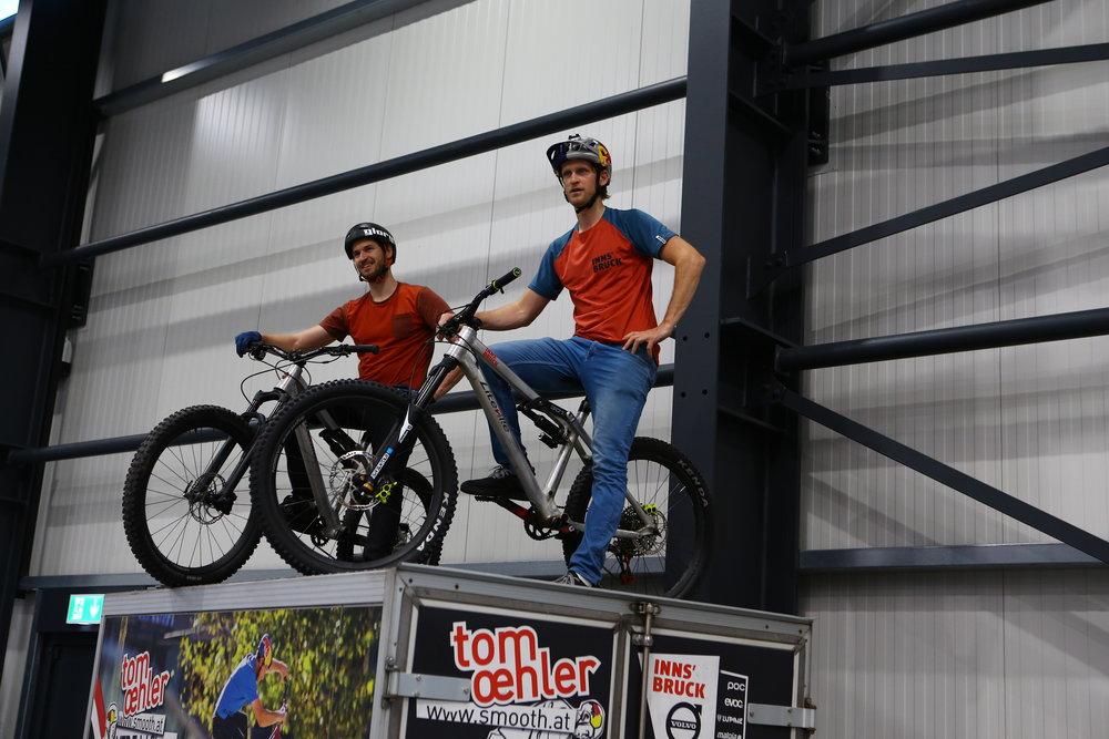 Tom Oehler und Stefan Eberhardter - mal nicht in Action © Syntace