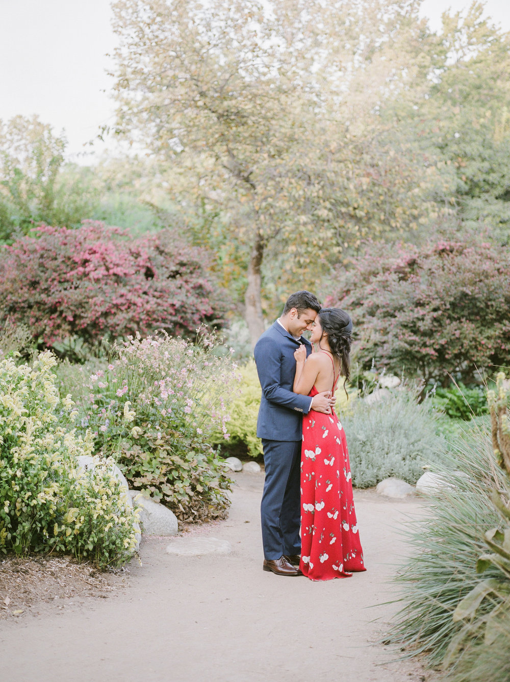 Los Angeles-Arboretum- Botanic-Garden-Engagement-24