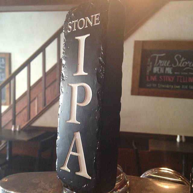 Stone is leaving the province !!! Come in to have your last pint before it's too late ⏰🍺 #stonebrewery #publove #monkslove