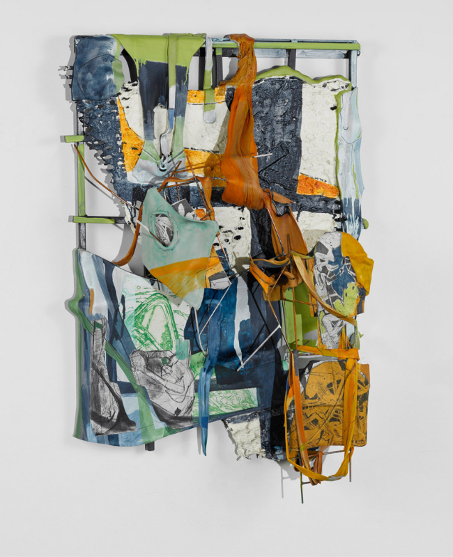 Left 1 , 2015 Mixed media 26 x 17 x 6 inches