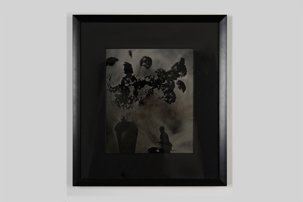 Hernan Bas  untitled 1  2016 Silver gelatin print 18 x 16 1/2 inches