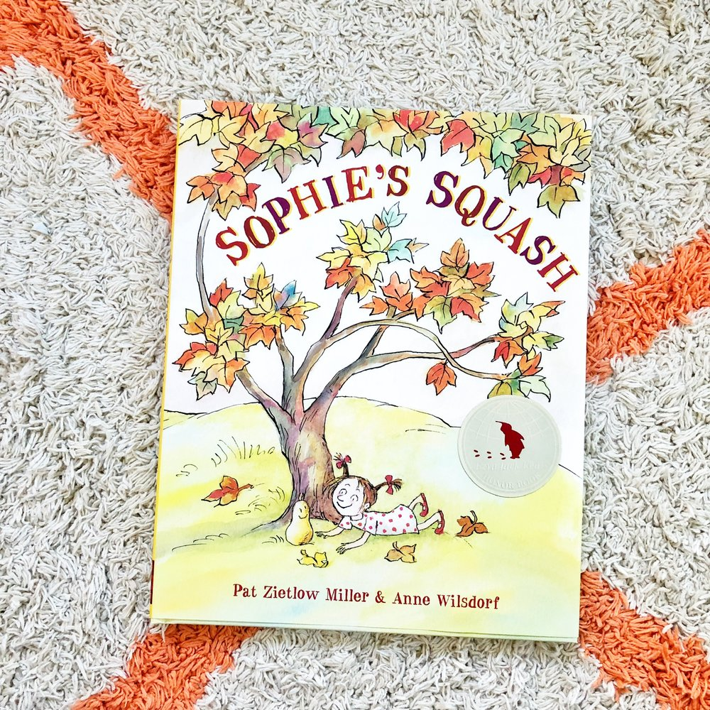 - Sophie's Squash is about a little girl who befriends a squash and turns the unlikely friendship into something everlasting. Two thumbs up from my five-year-old.