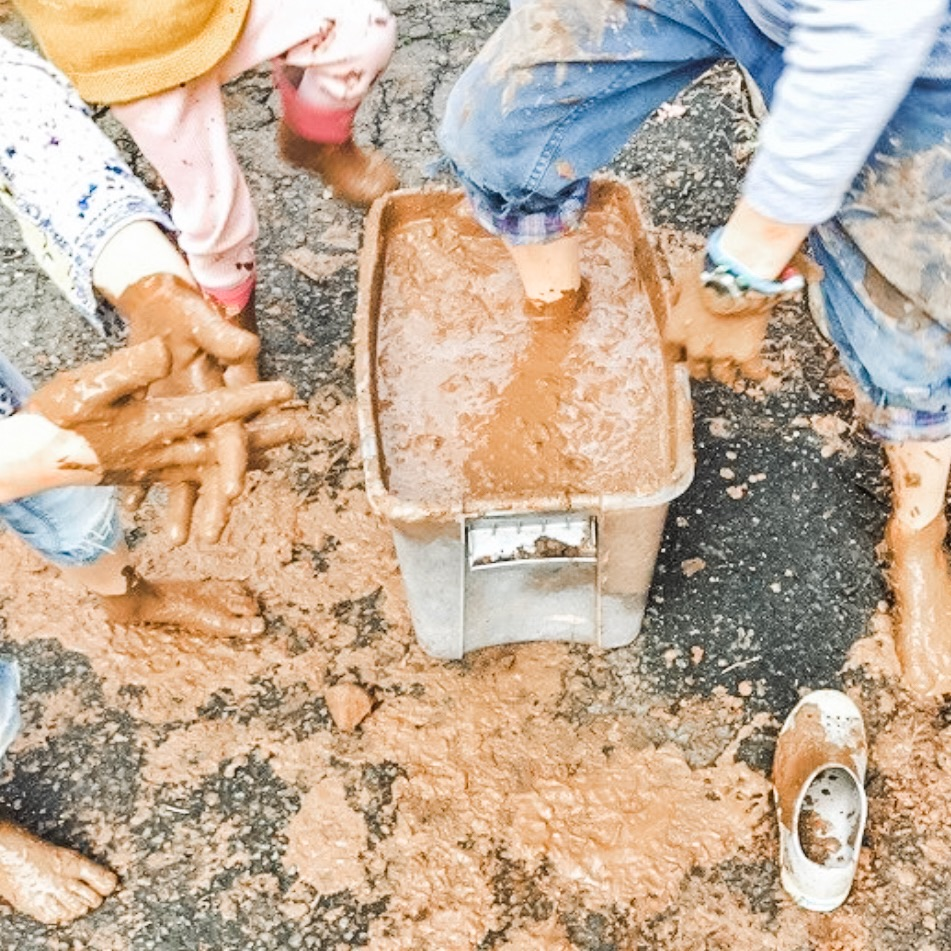 APRIL SHOWERS BRING   MUD AND WHY YOU SHOULD ALLOW MUD PLAY  — the
