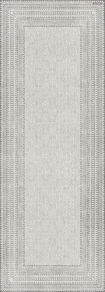 """Beija Flor Cream Runner Floor Mat: 36""""x99"""""""