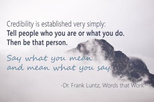 Frank Luntz Quote