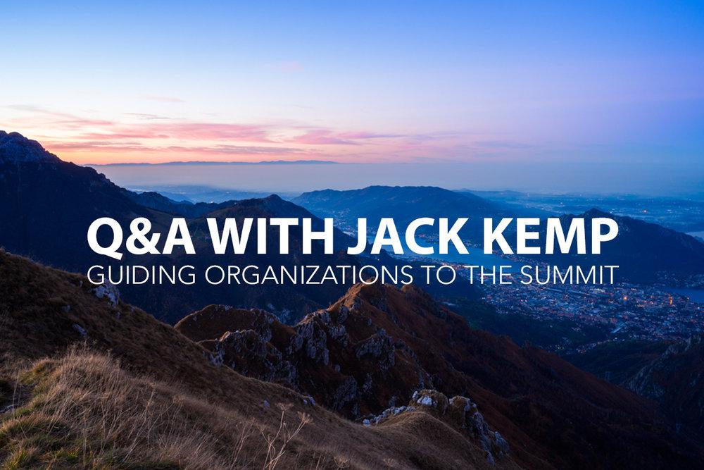 Q&A with Jack Kemp