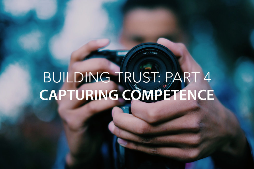 Capturing Competence Trust Blog - The Center Consulting