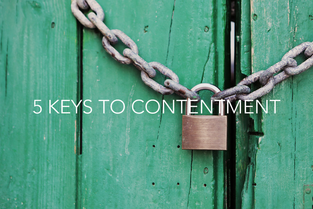 5 Keys to Contentment - Philip A. Clemens - The Center Cosnsulting