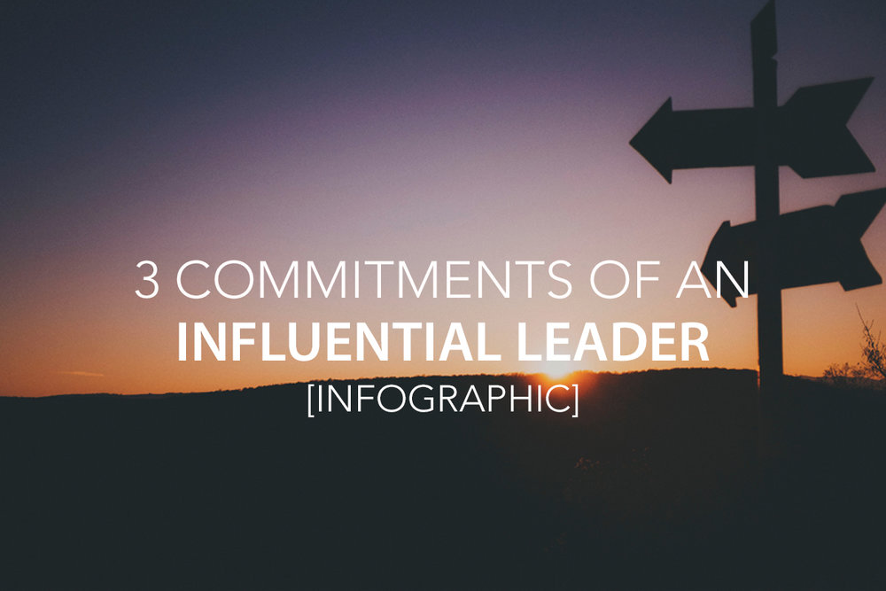 3 Commitments Every Influential Leader Needs to Make [Infographic]