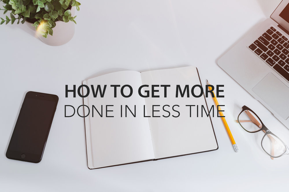 How to Get More Done in Less Time - Dr. Stefani Yorges - The Center Consulting and Coaching