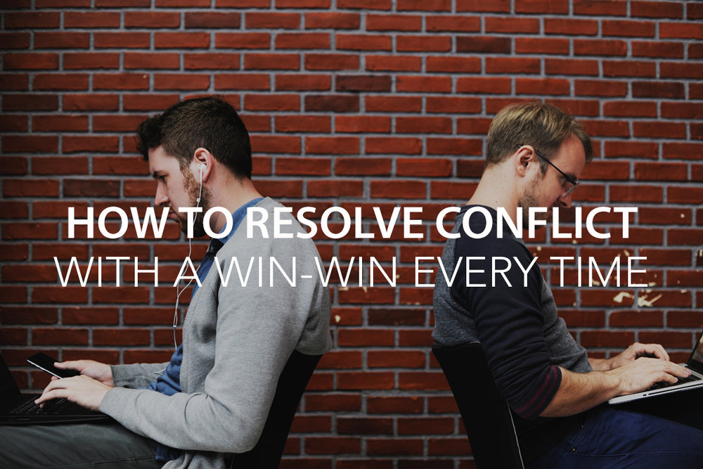 How to Resolve Conflict with a Win-Win Every Time - The Center Consulting Group - Leadership Coaching and Organizational Consulting for Businesses, Non-profits, and Churches