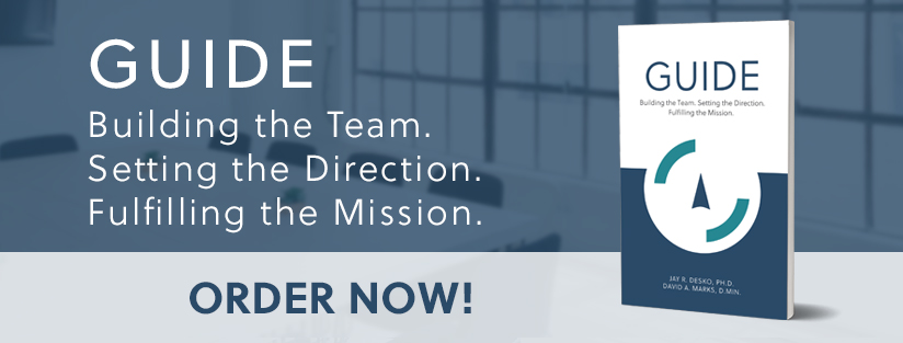 GUIDE: Building the Team. Setting the Direction. Fulfilling the Mission. - Your guide to navigating the challenges to organizational growth - The Center Consulting Group - Leadership Coaching and Organizational Consulting for Businesses, Non-profits, and Churches