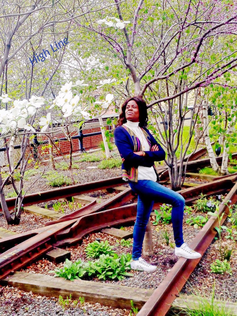 Ballade sur la High Line