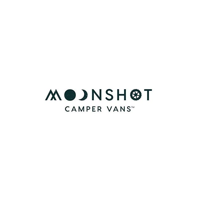 "This weekend marked a big date in the life of our branding client, @moonshotcampervans. They officially launched! (get it? moonshot. launched! 😉 ) 🌖 ""Moonshot Camper Vans builds well-designed off road class camper vans that connect people to the natural world and each other."" We especially love that last part: ""connect people to the natural world and each other."" That's a pretty great mission and guiding principle, don't you think? 🌄 This is the primary logo we designed. It incorporates the outdoors with mountains and moons, as well as the rugged tire of a camper van that will take take you on those exhilarating adventures. 🌖 Diving into the mission and goals of our clients is such an interesting process and really enables us to create unique branding for every business. 💫 We have several branding slots open on our schedule and we'd love to help you bring your business to life. Let's talk! DM or visit our site ☝️ #designedbycuriousandco #branding #brandingdesign #logodesigners #smallbusiness #creativebusiness #creativebiz #newbusiness #womeninbusiness #womenowned #communityovercompetition #risingtidesociety #moonshotcampervans #vanlife #brandlaunch #whitespacefall"