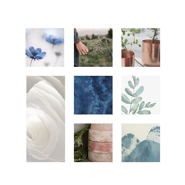 Easing into the week with the peaceful, nature-inspired moodboard for Atwater Designs. 🌿 To see how we translated the moodboard into visual branding for @atwaterdesigns, view the previous two posts. ✨ Images used for inspiration. #moodboardmonday #moodboard #inspiration #botanical #branding #visualidentity #logodesign #graphicdesign #designprocess #behindthescenes #creativeprocess