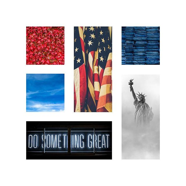 Election Day moodboard. 🇺🇸 The three of us here at Curious & Co. have cast our ballots. Two in Pennsylvania, one in California. We recently posted our reasons for voting on our @wethepostcard account. 🇺🇸 Thank you to everyone who has volunteered at the polls, given a ride to neighbors, brought coffee to poll workers, and the countless others who have done their part to promote a fair election process. Even if all you did was remind someone to get to the polls, you are helping! 🇺🇸 Every vote counts. #electionday #moodboard #vote #pleasevote #takeaction #civicduty