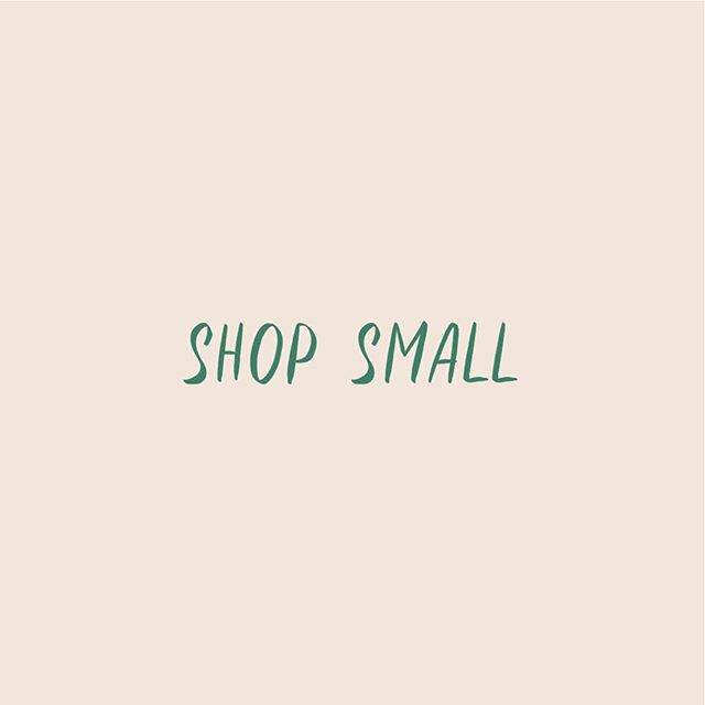 Small businesses are awesome. ⭐️ We are very lucky to work with so many hard-working small business owners who are making their communities better and stronger and more interesting. 🙌 We encourage you to spend your dollars on products and services offered by the small shops in your community and the independent sellers online. Not just on Small Business Saturday, but all year long. 🛍 #smallbusinesssaturday #smallbusiness #shopsmall #shoplocal