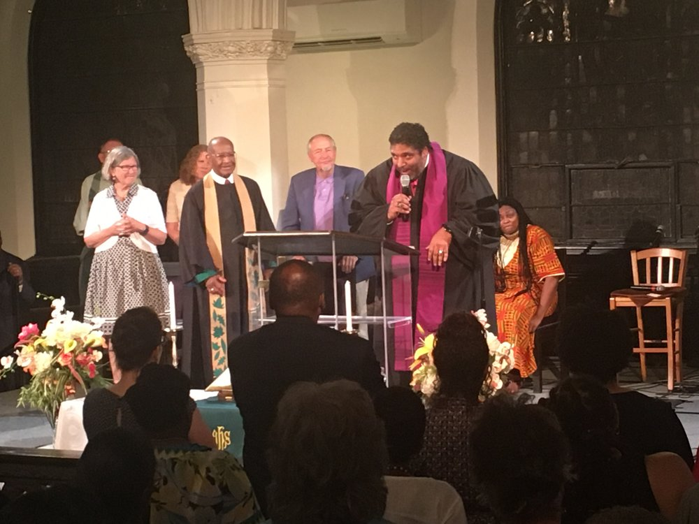 Boston Revival with Reverend Barber and Speakers