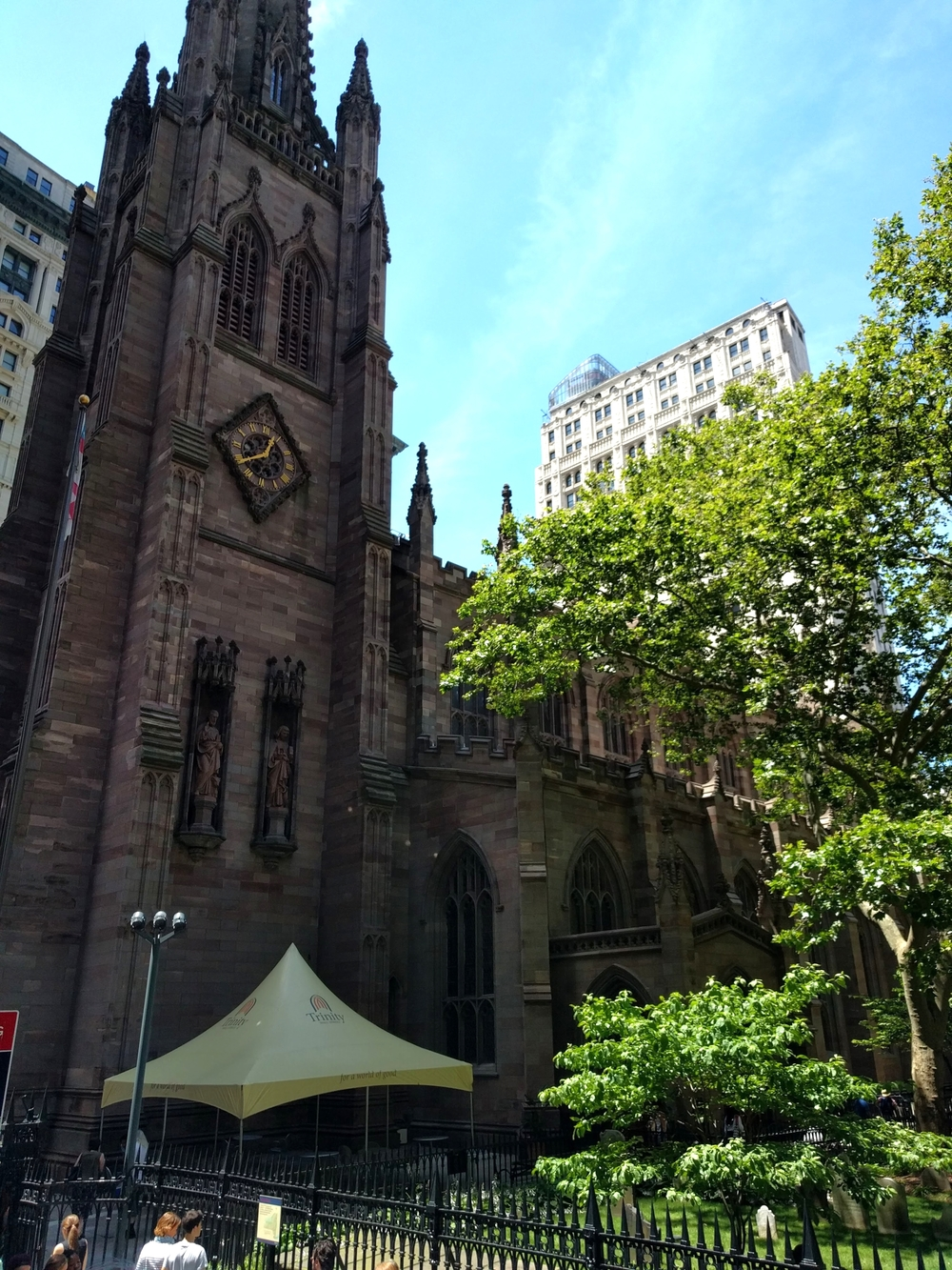 Church that withstood 9/11