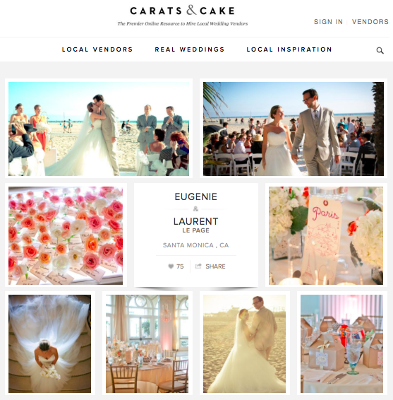 Eugenie + Laurent | Carats & Cake Read Article