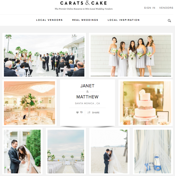 Janet + Matthew | Carats & Cake Read Article