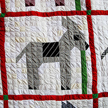 Mexican Donkey Quilt