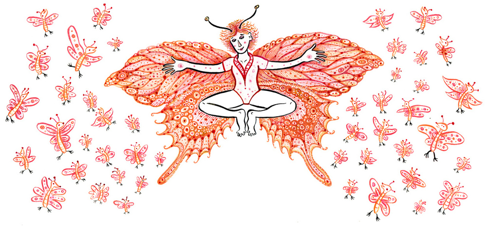 Become an Animal – Butterfly Pose