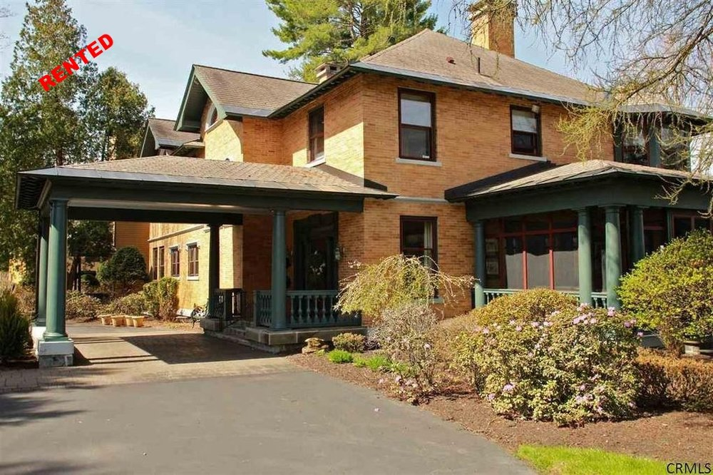 Rented 3/15/16              Rented for $5000 Seller/Buyer Representation  55 Myrtle St, Saratoga Springs NY 12866  5 bedrooms | 5.5 Baths | 8000 sq ft