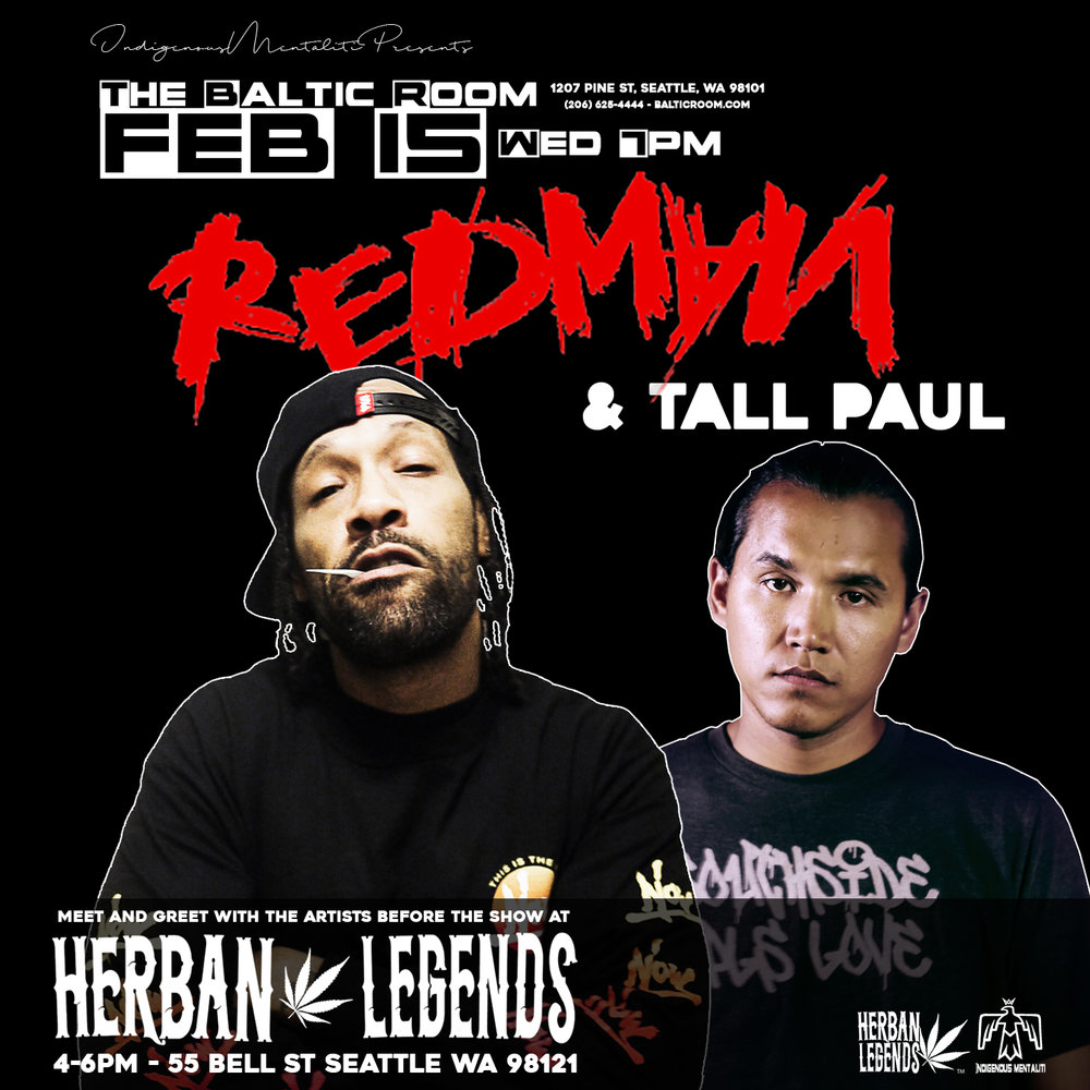 Redman and tall paul at herban legends herban legends we are so excited to have two legendary hip hop artists join us in our shop on wednesday feb 15 redman and tall paul will be joining us for a special meet kristyandbryce Images