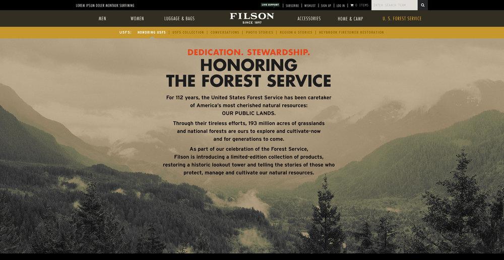 Filson.com homepage.jpeg