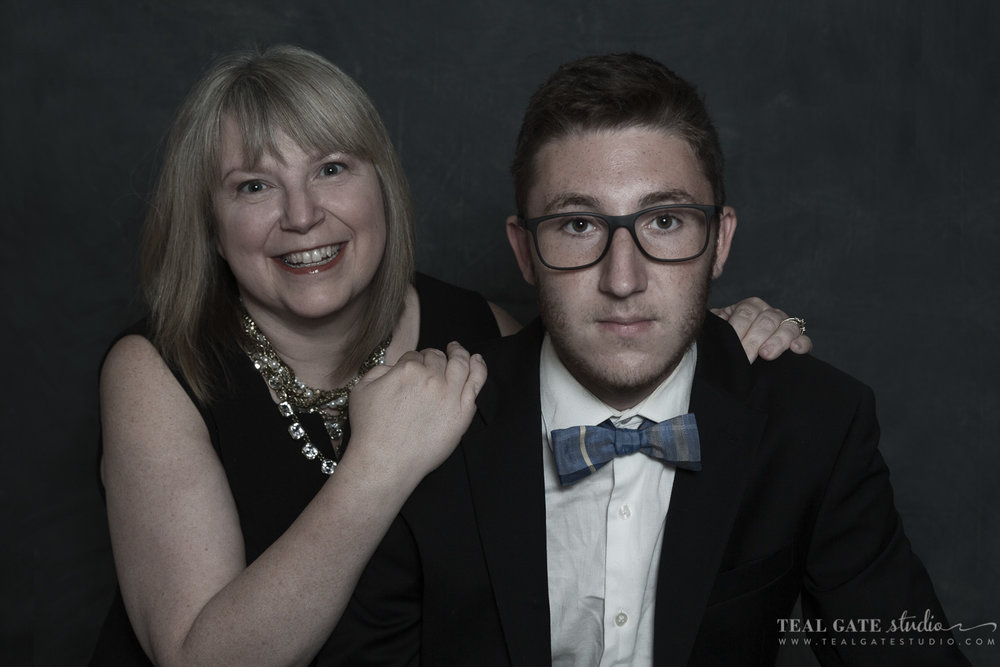 Mother/Son Portrait