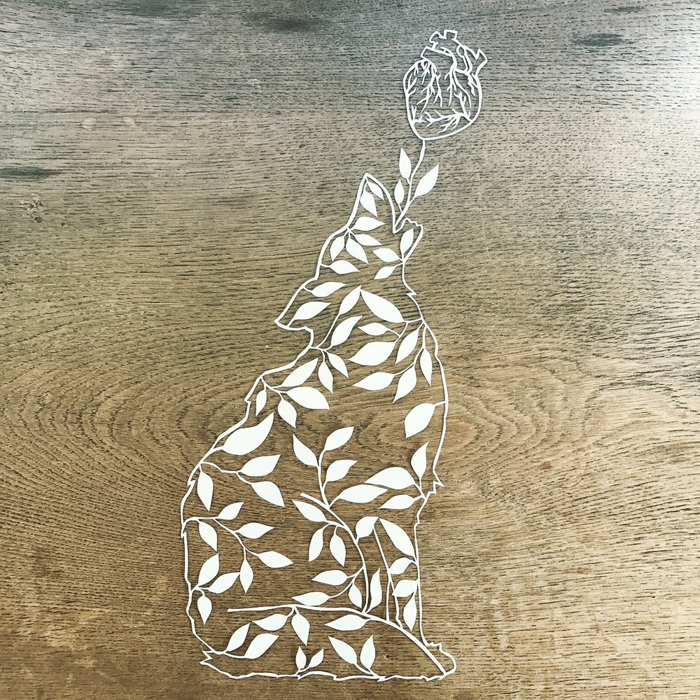 A wolf's love - Papercuts