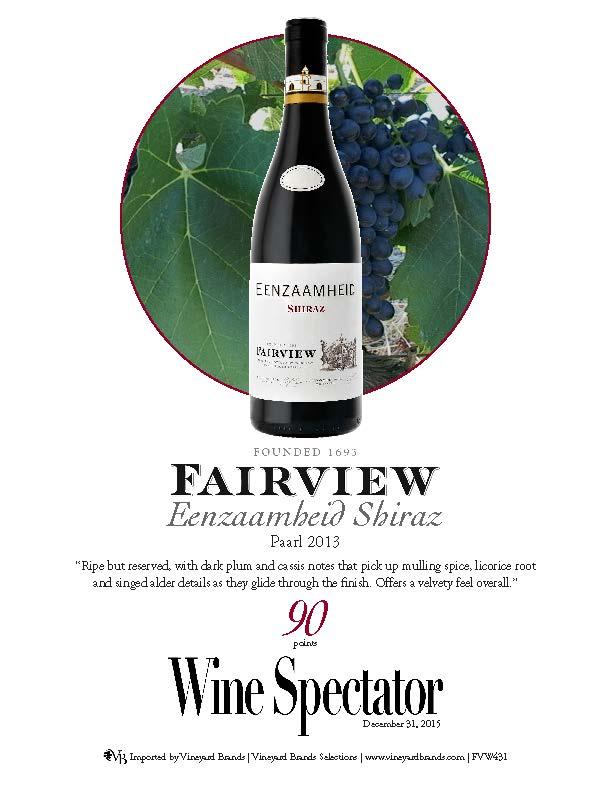 Fairview Wine 2013