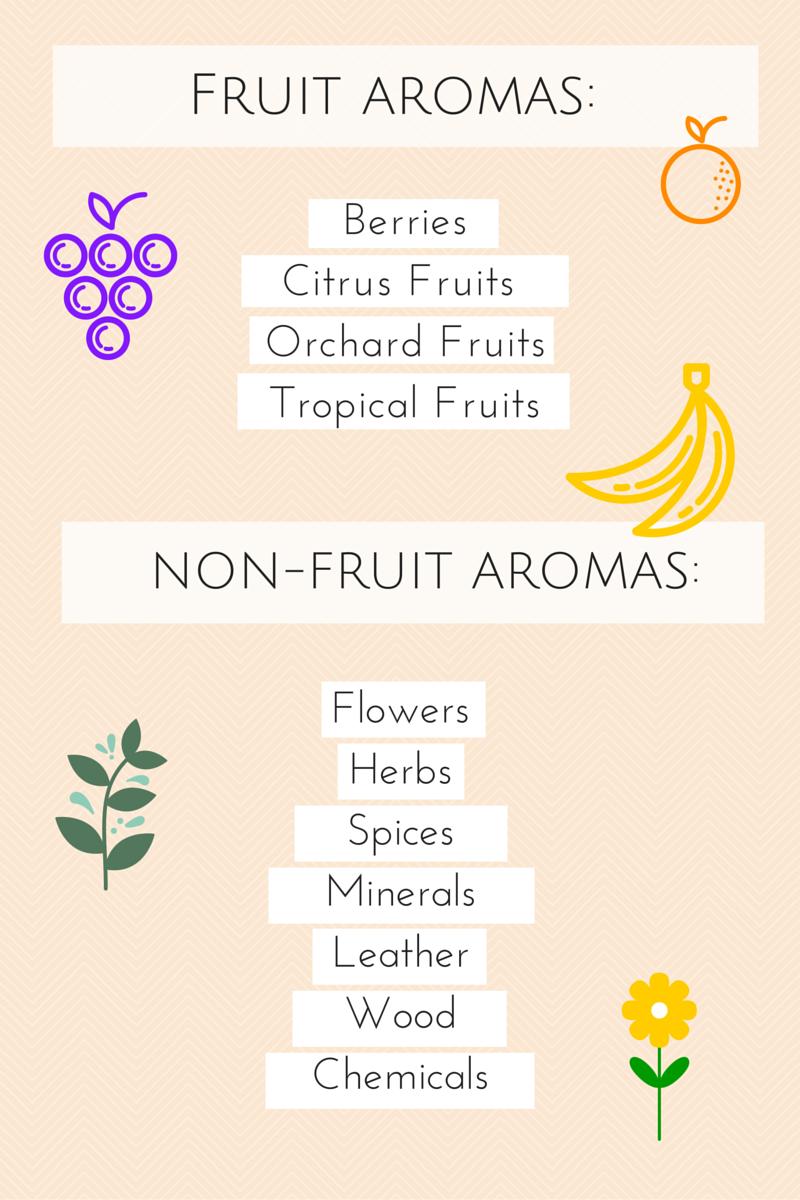 Fruit and Non Fruit Aromas in Wine