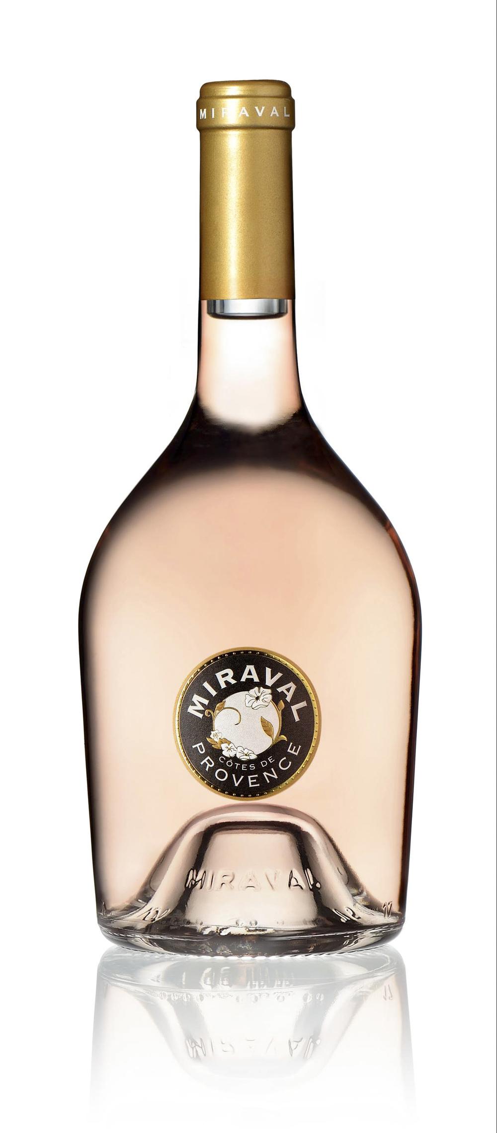 Perrin Miraval Côtes de Provence Rosé Bottle_with reflection.jpg