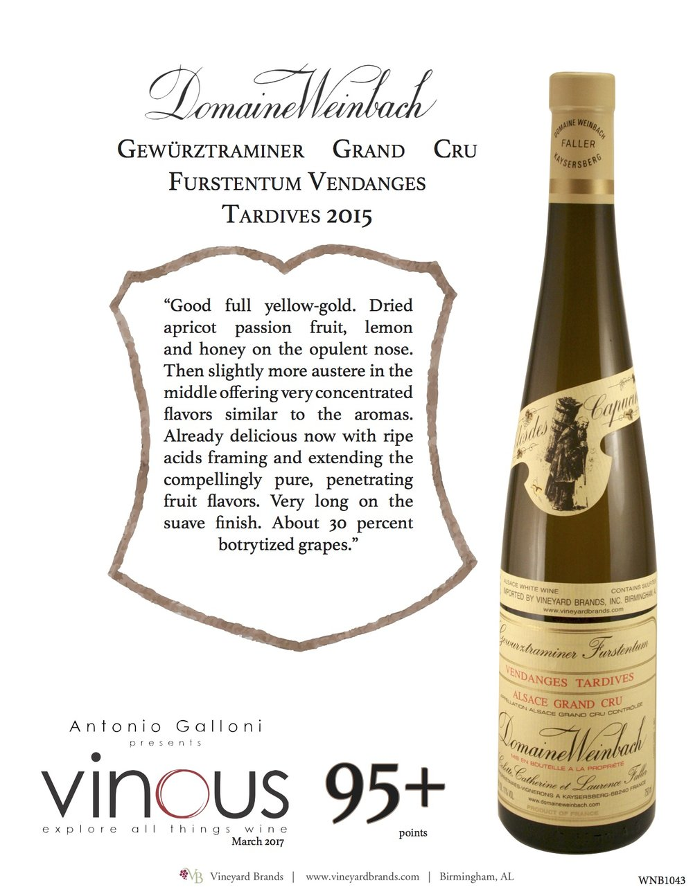Weinbach Gewurztraminer Furstentum Vendanges Tardives Grand Cru.jpg